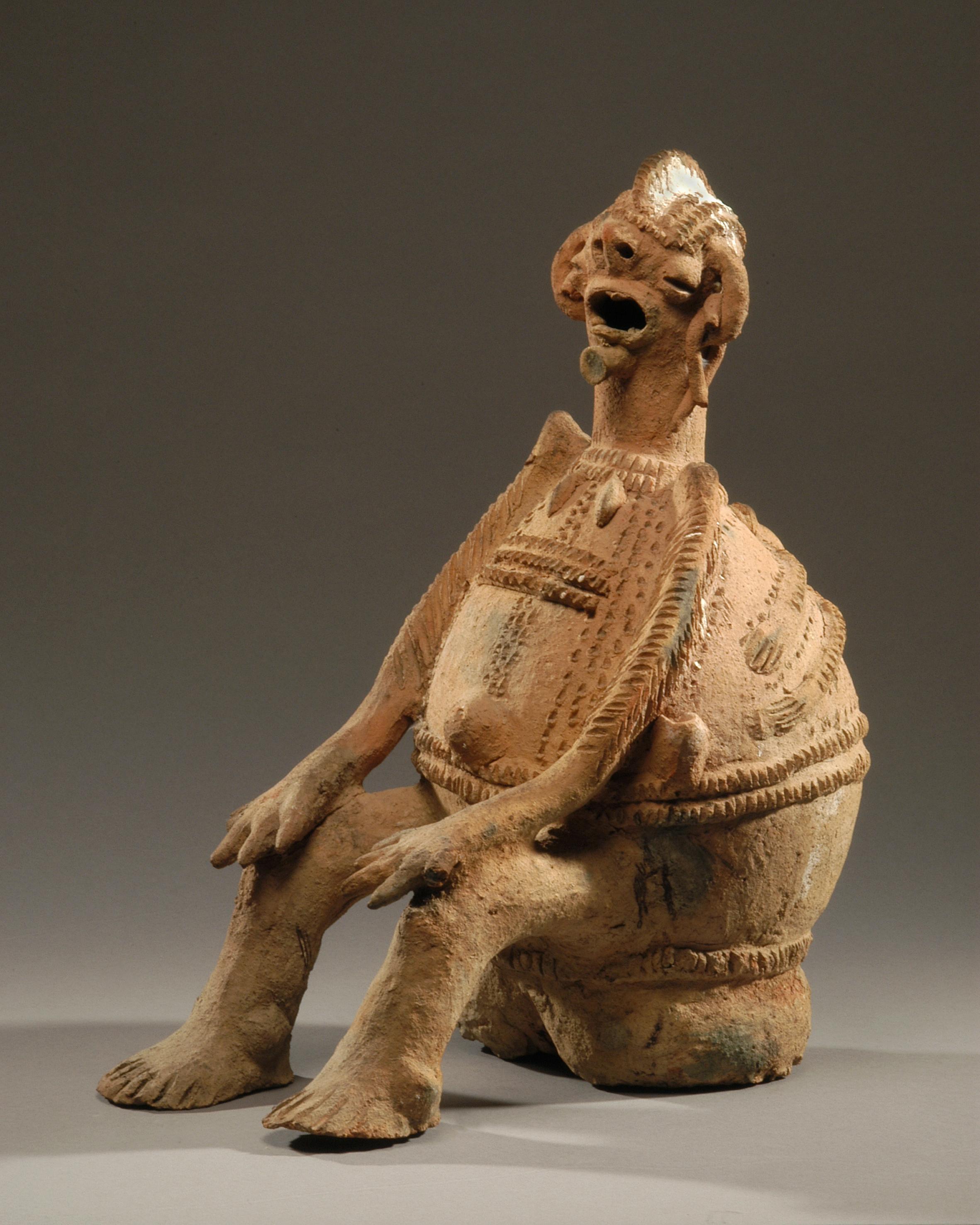 Longuda 'chandu' moeder en kind figuur