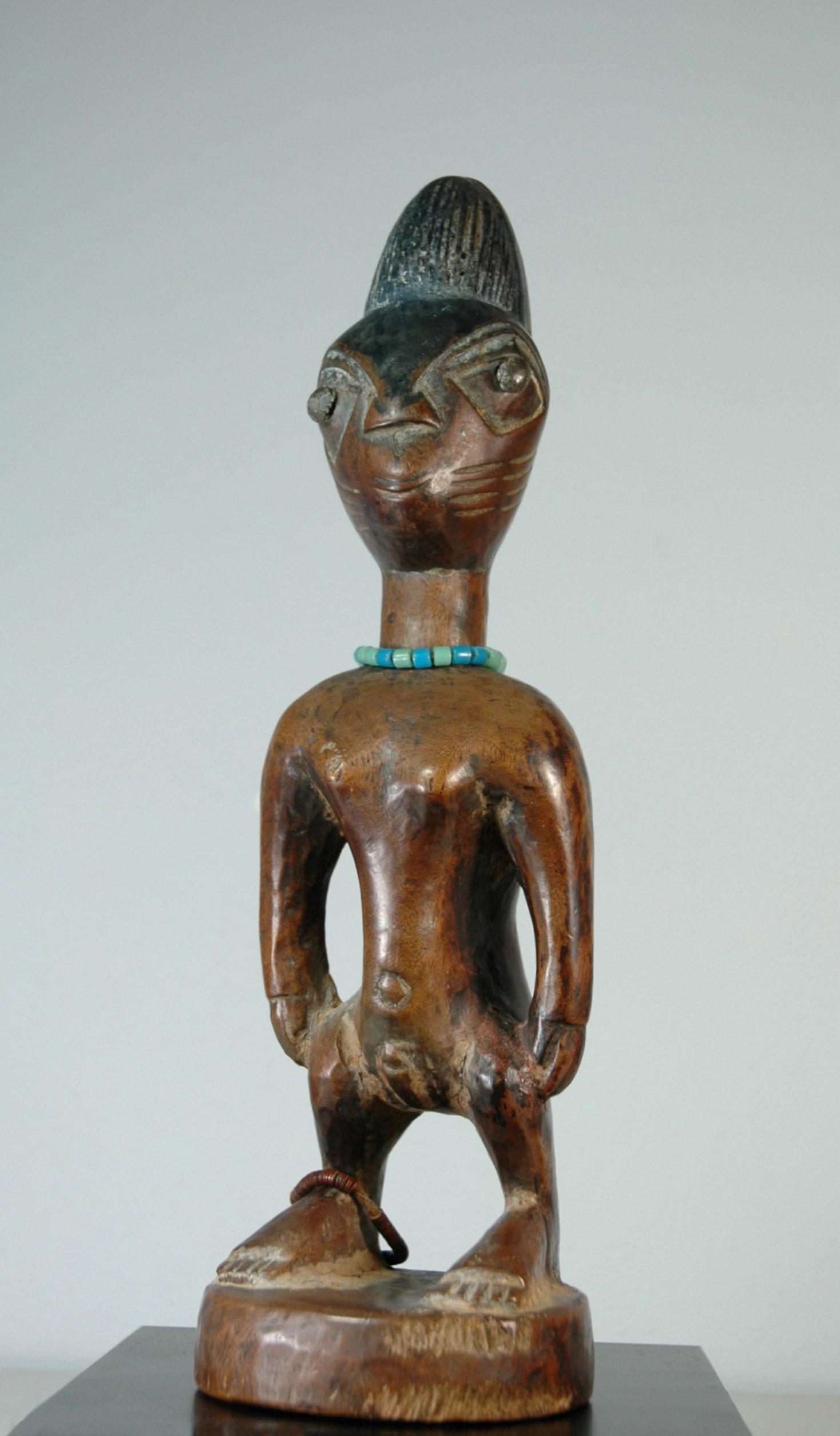 Yoruba tweelingbeeld Igbomina <em>Ibeji</em>