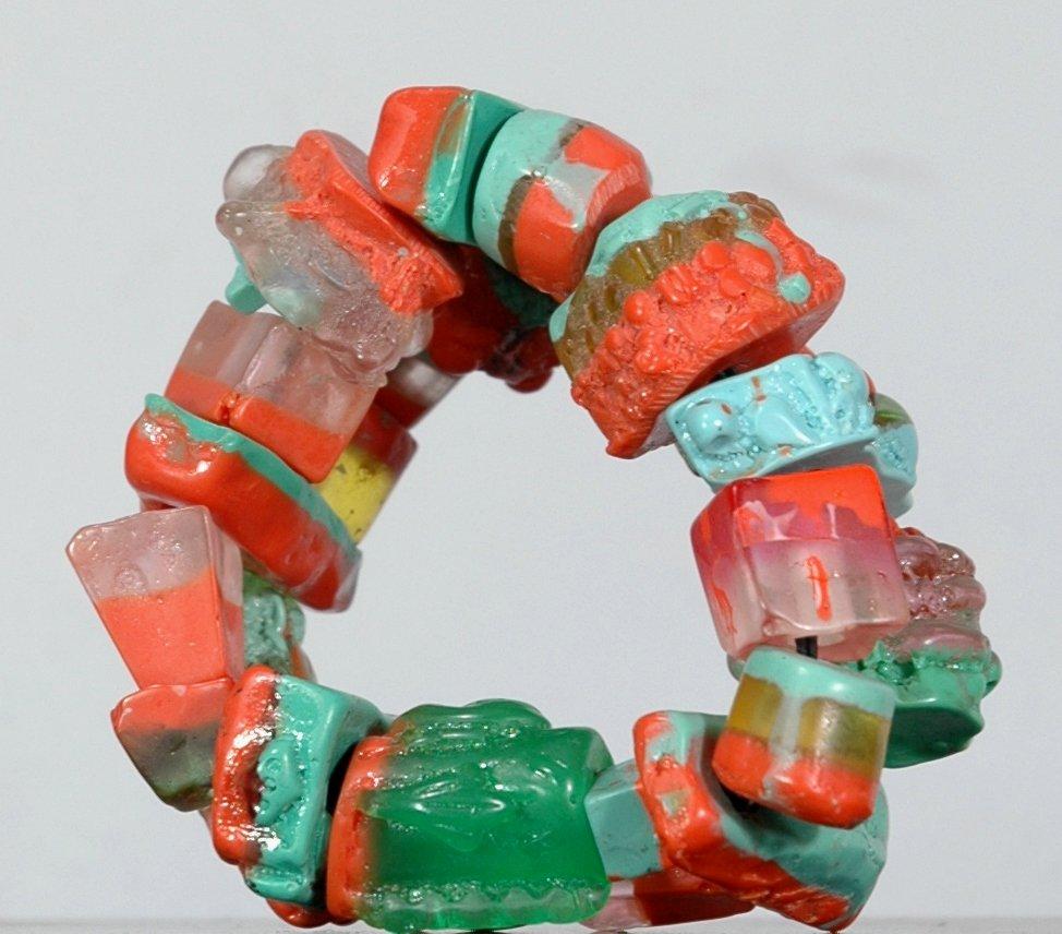 Recent vervaardigde armband uit Zuid Afrika