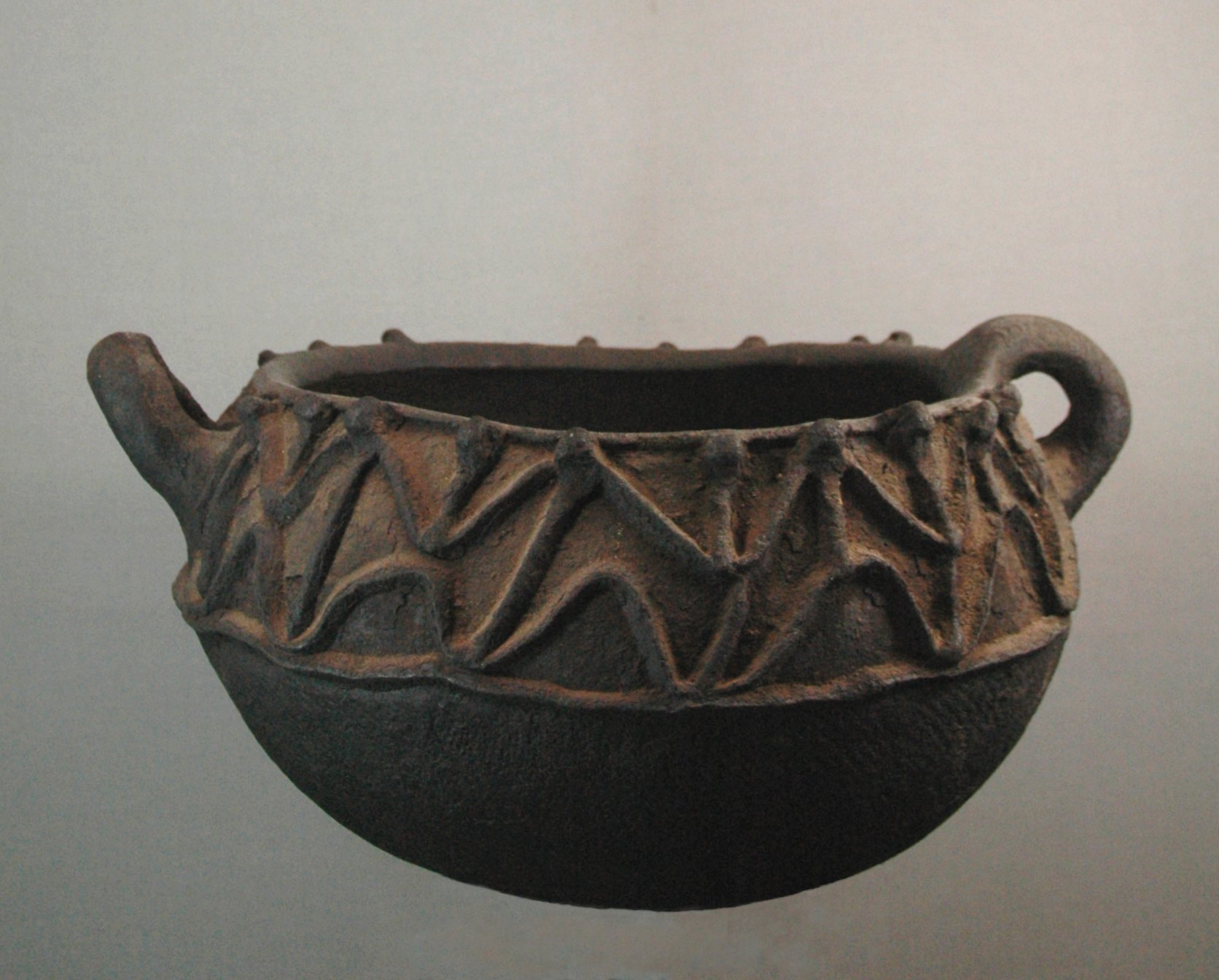 Tikar bowl for palm wine